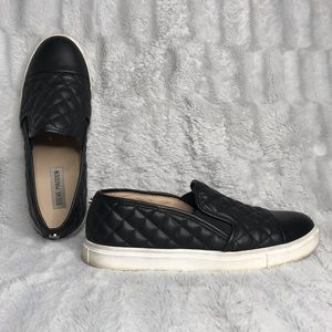 Steve Madden Zaander Quilted Leather Sneakers